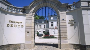 Deutz Champagne Chateua Entrance Gates