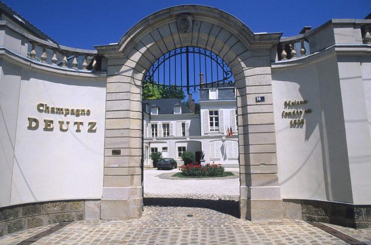 Deutz Champagne Chateua Entrance Gates