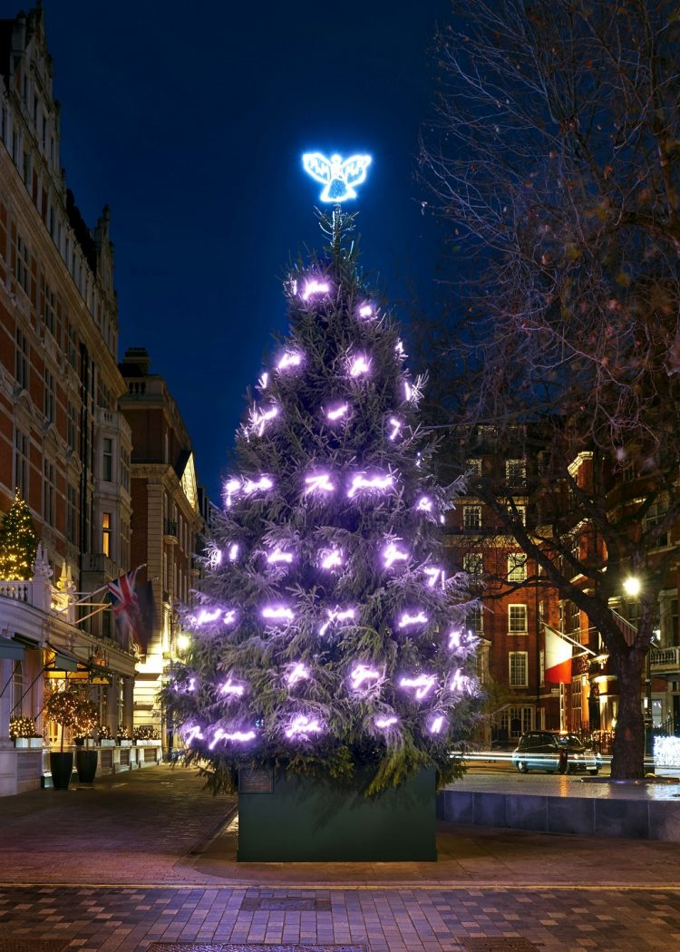 Mayfair Mount Street Christmas Tree